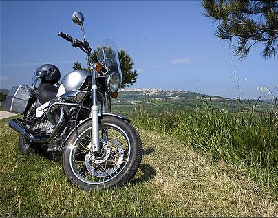mototurismo a Sansepolcro